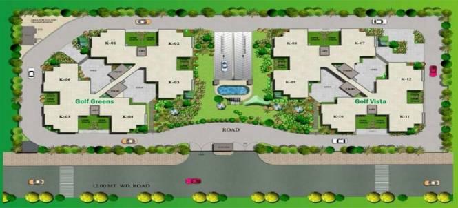 Keltech Golf Vista Layout Plan