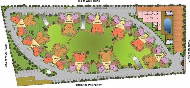 Shubhkamna City Layout Plan