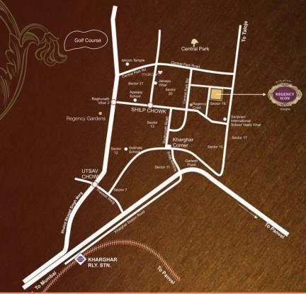 Regency Icon Location Plan