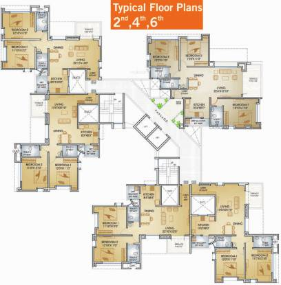 Teerth Towers Cluster Plan