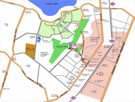 Mayfair Hillcrest Location Plan