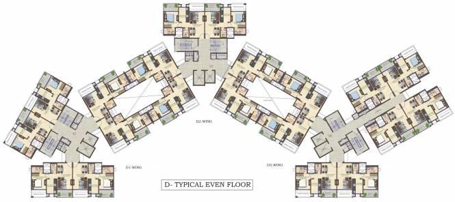 Mahindra Antheia Cluster Plan