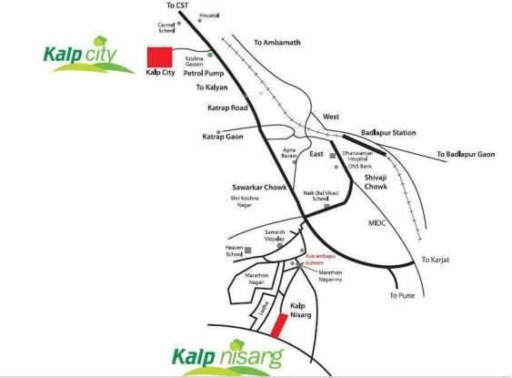 Kalp Nisarg Location Plan