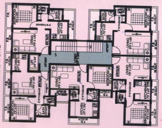 Krishna Square Cluster Plan