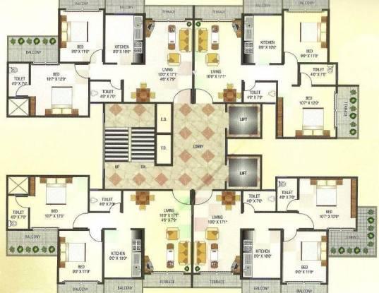 SRB Gurudeo CHS Cluster Plan