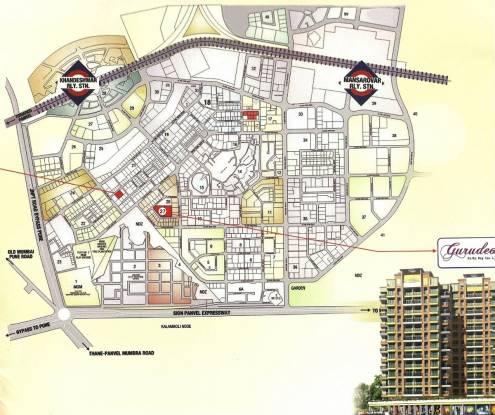 SRB Gurudeo CHS Location Plan