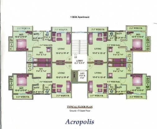 Uma Acropolis Neopolis Cluster Plan