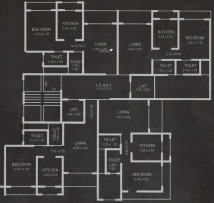 Neumec Srushti Cluster Plan