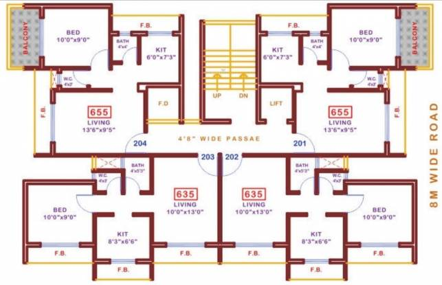 Abode Sapphire Bliss Cluster Plan