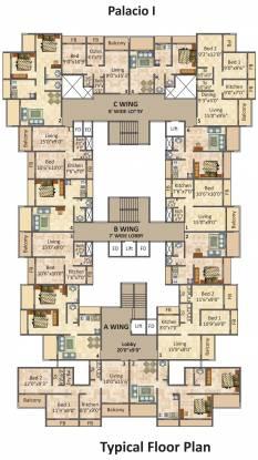 Platinum Palacio Cluster Plan