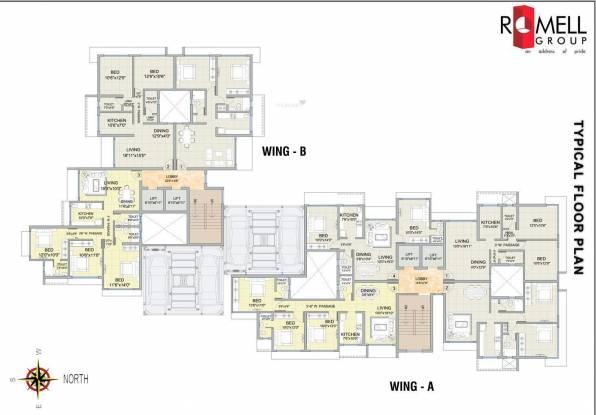 Romell Diva Cluster Plan