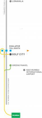 Indiabulls Golf City Location Plan