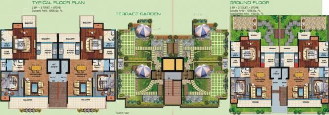 Amrapali Centurian Park Low Rise Cluster Plan