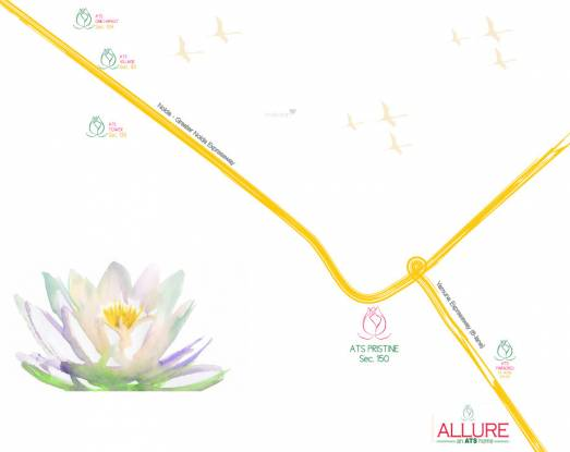 ATS Allure Location Plan