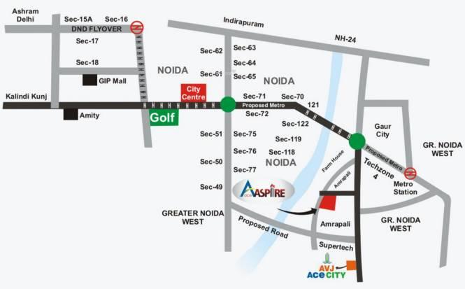 Ace Aspire Location Plan