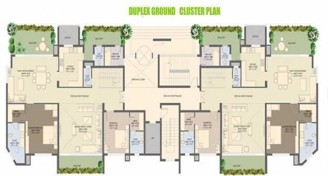 Agrante Beethoven 8 Cluster Plan