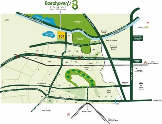 Agrante Beethoven 8 Location Plan