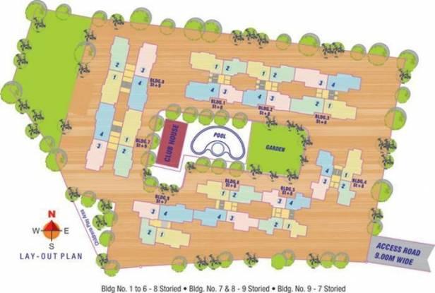 RNA NG Paradise Layout Plan