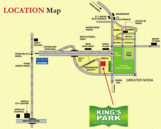 Today Homes Kings Park Location Plan