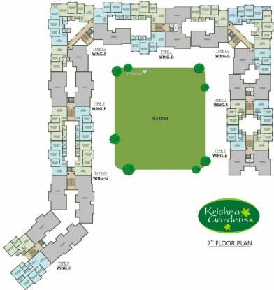 Agarwal Krishna Gardens Cluster Plan