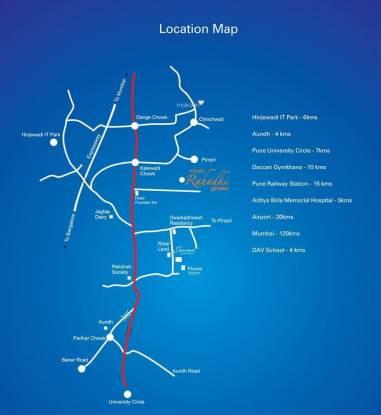 GK Royale Rahadki Greens Location Plan