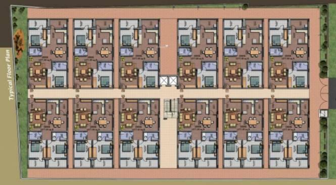 Divya VRS Citadel Cluster Plan