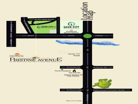 Geotech Pristine Avenue Location Plan