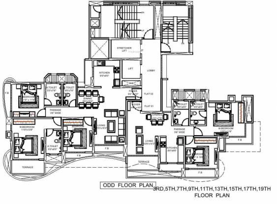 Adhiraj Zinnia Cluster Plan