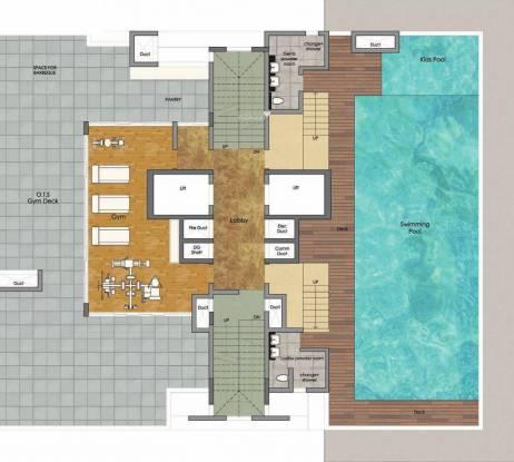 Prestige Spencer Heights Cluster Plan