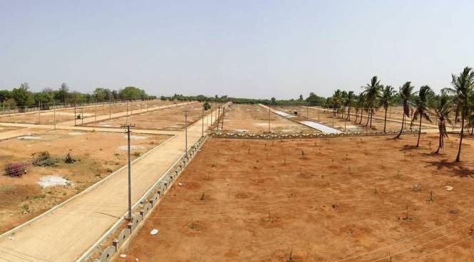 Prasanthi North Park Construction Status