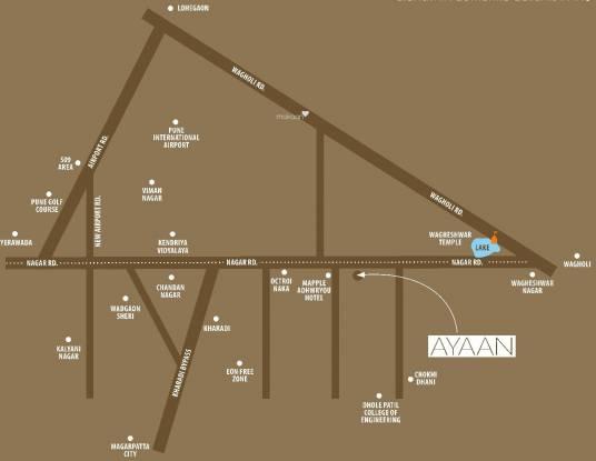 Gandhi Ayaan Location Plan
