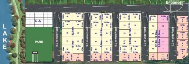 Willow Amrutha Lake View Layout Plan