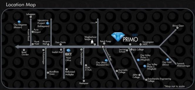 Venkatesh Primo Location Plan