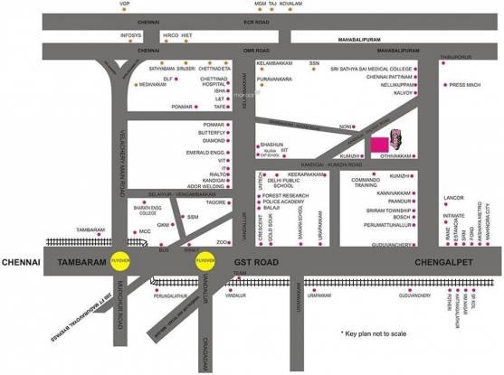 Pristine Hill Breeze Location Plan