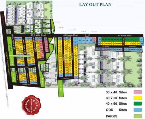 Venus BC City Layout Plan