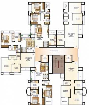 HDIL Premier Residences Cluster Plan