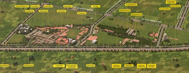 Anant Anant Raj Estate Plots Layout Plan