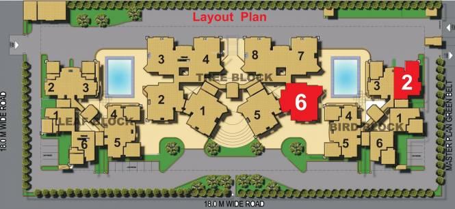 Samiah Singapore Residency Layout Plan