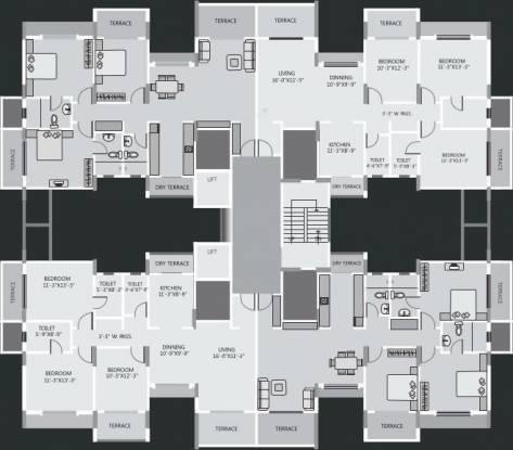 Regency Cosmos Cluster Plan