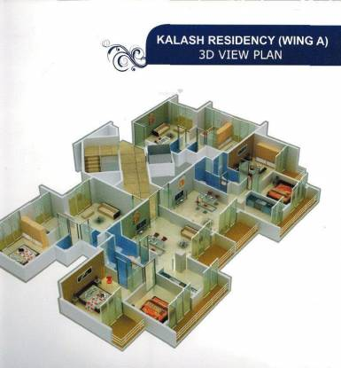 Satpanth Kalash Residency Cluster Plan