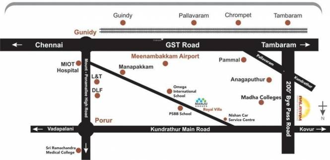 Manju Aalayam Layout Plan