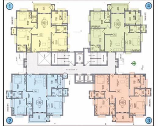 Aparna Sarovar Cluster Plan