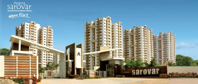 Aparna Sarovar Elevation