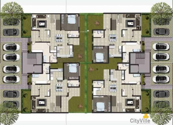 Valmark City Ville Cluster Plan