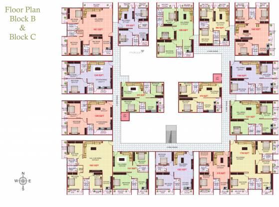 Isha Casablanca Cluster Plan