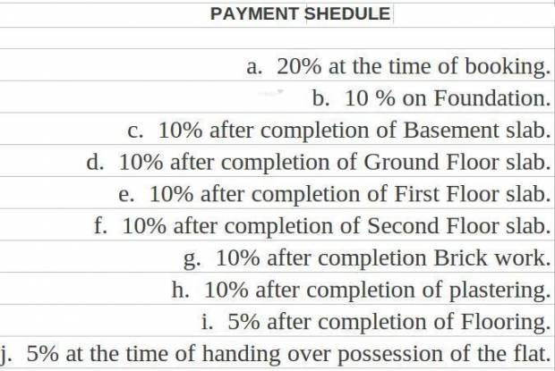 Isha Casablanca Payment Plan