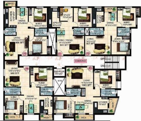 StepsStone Ethiraj Cluster Plan