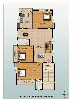 RKN Diksha Flats Cluster Plan