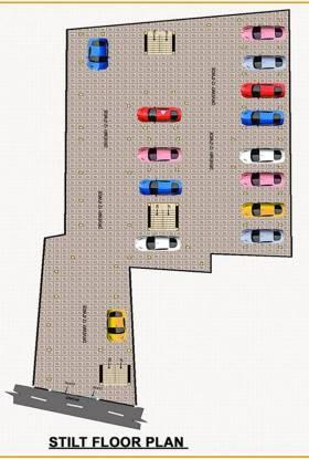 RKN Diksha Flats Site Plan