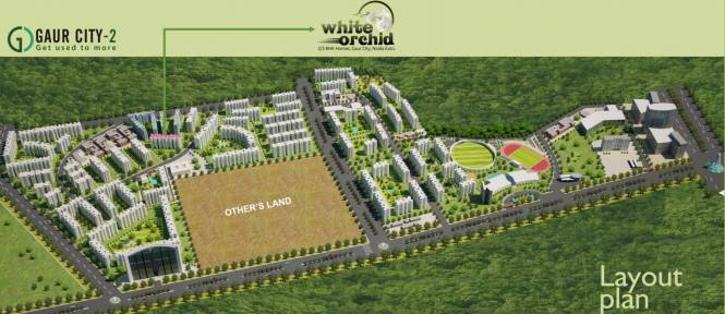 Town White Orchid Site Plan